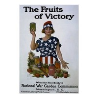 The Fruits of Victory ~ Vintage WW1 Poster