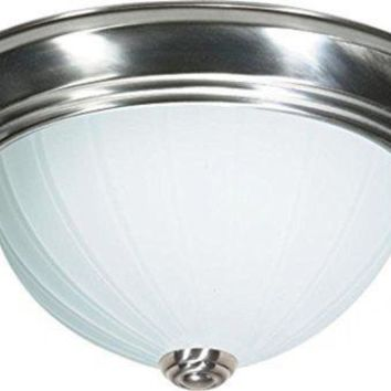 "Nuvo 76-244 - 13"" Close-To-Ceiling Flush Mount Ceiling Light"
