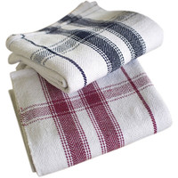 Cotton Blanket or Table Cloth ~ Red