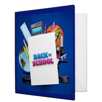 School Notes 3 Ring Binder