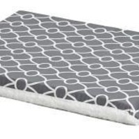 """Midwest Quiet Time Reversible Crate Pad 36"""" Grey"""