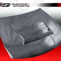 95NS2402DDFT-010C VIS Carbon Fiber Hood - Drift Style for 1995 Nissan 240sx at Andy's Auto Sport