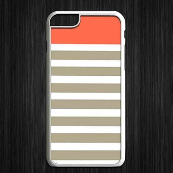 angerine and gray stripes for iPhone 4/4s/5/5s/5c/6/6+, iPod, Samsung Galaxy S3/S4/S5/S6, HTC One, Nexus