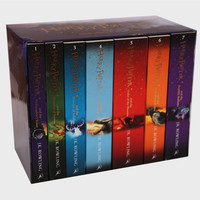 New Edition Box Set Harry Potter Collection
