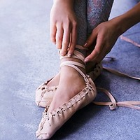 All Hands Womens Handmade Ballet Slipper
