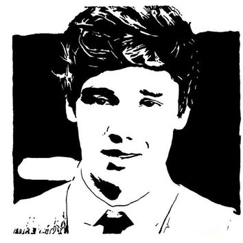 Liam Payne One Direction Pop Art Drawing - Print