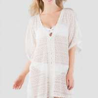Domingo Crochet Swim Cover-Up