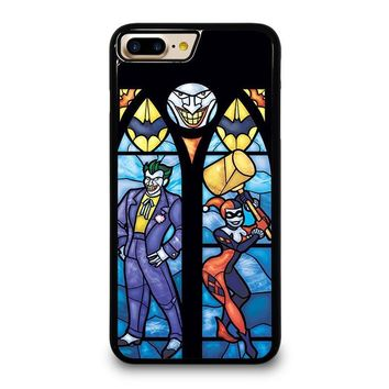 JOKER AND HARLEY QUINN ART iPhone 7 Plus Case Cover