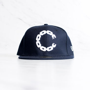 New Era x Crooks & Castles 59 Fifty - 'Navy'