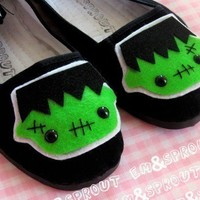 Frankenstein Shoes Frankenstein's Monster Mary by emandsprout