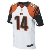 Nike NFL Cincinnati Bengals (Andy Dalton) Men's Football Away Elite Jersey