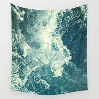 Water III Wall Tapestry by Dr. Lukas Brezak