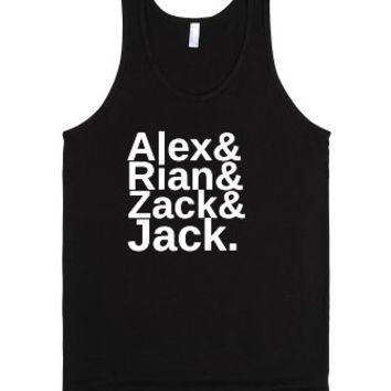 All Time Low-Unisex Black Tank