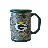 Green Bay Packers - Logo 15 oz Sculpted Stone Wall Mug