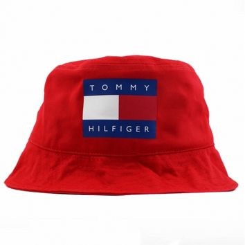 5780ae20542 Vintage Tommy Hilfiger Bucket Hat. from agoraclothing.com