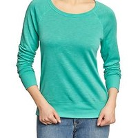Women's Lightweight Terry Sweatshirts
