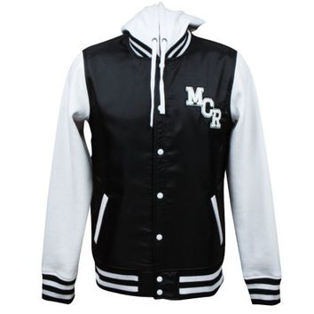 My Chemical Romance hooded varsity jacket
