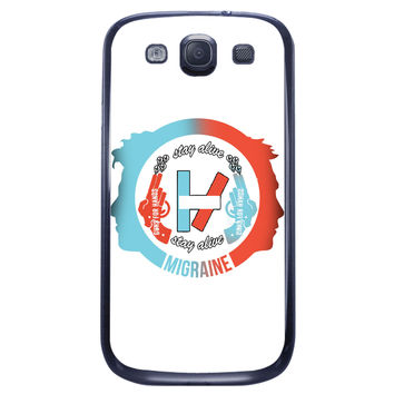 Twenty One Pilots Stay Alive Samsung Galaxy S3 Case