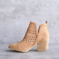 Spring Valley Cutout Ankle Bootie   More Colors