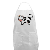 Cute Cow Adult Apron