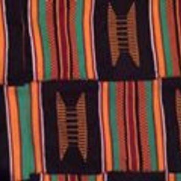 African Kente Cloth Scarf *MIA*