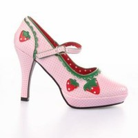Funtasma by Pleaser Strawberry Heel Shoes - Pink - Punk.com