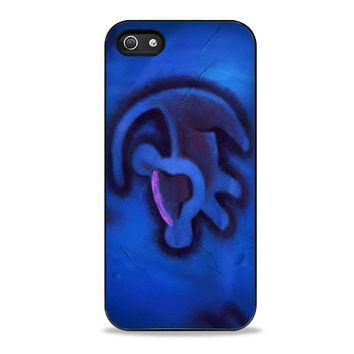 Simba Lion King Drawing disney Iphone 5s Cases
