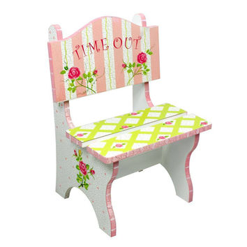 Fantasy Fields - Crackled Rose Time Out Chair