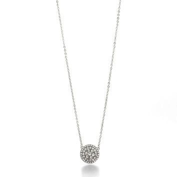 Glitz Disc Necklace