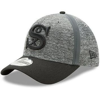Chicago White Sox New Era 39THIRTY Clubhouse Cooperstown Stretch Flex Cap Hat