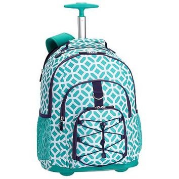 Gear-Up Ceramic Pool Peyton Rolling Backpack