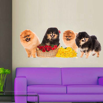 dogs wall Decals dogs wall decor dogs Full Color wall Decals Animals wall Decals veterinary clinic decor Home Decor for kids room cik2247