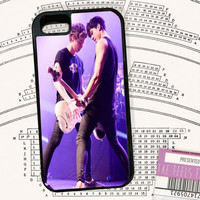 5sos Calum and Luke on stage Fan Made Phone Case