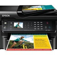 Epson WorkForce WF-3520 Wireless All-in-One Color Inkjet Printer, Copier, Scanner, 2-Sided Duplex, ADF, Fax. Prints from Tablet/Smartphone. AirPrint Compatible (C11CC33201) | Best Product Review