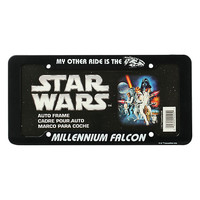 Star Wars Millennium Falcon License Plate Frame