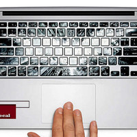 keyboard decal MacBook decal MacBook air sticker MacBook pro decal