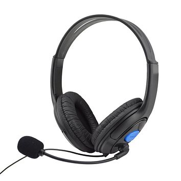 Wired Gaming Headset Headphones With Microphone For Sony PS4 Play