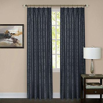 Ben&Jonah Collection Windsor Pinch Pleat Window Curtain Panel 34x63