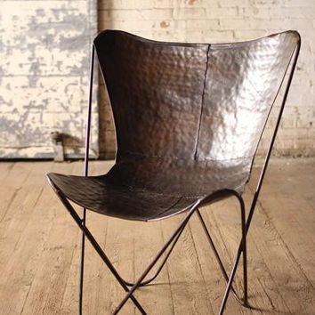 Iron Butterfly Chair-Antique Black