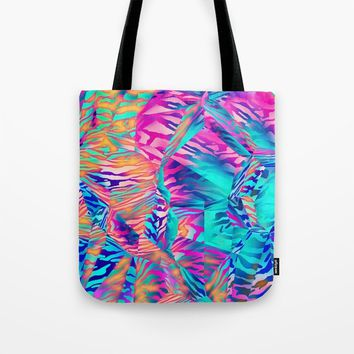 Abstract Colorful Pattern Tote Bag by tmarchev