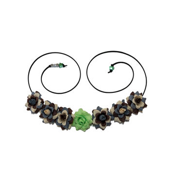 Green Lightsaber Flower Crown