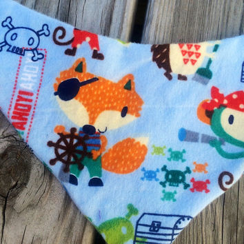 Baby bandana bib, bandana bib, pirate bibdana, pirate bandana bib, pirate bib, animal pirate bib, animal bandana bib, stylish baby bib