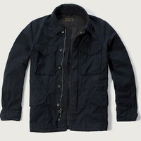 Mens Twill Military Jacket | Mens Outerwear & Jackets | Abercrombie.com