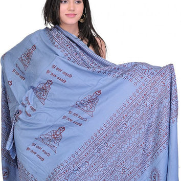 MOTHER'S DAY GIFT for her Hippy Hippi Bohomian Beach Yoga Meditation Prayer Shawl of Gautam Buddha