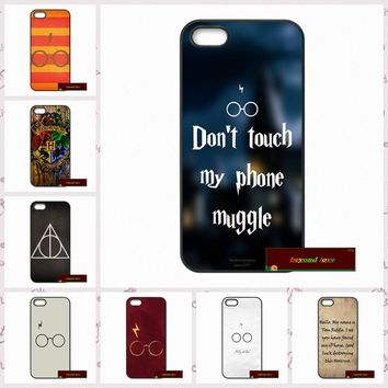 Phone Cases Cover For iPhone 4 4S 5 5S 5C SE 6 6S 7 Plus 4.7 5.5 Harry Potter Hogwarts Case Cover