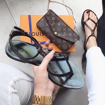 LV Fashionable leisure women Slipper
