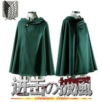 Japan Anime Shingeki no Kyojin Cloak Cape clothes cosplay Attack on Titan