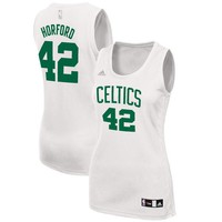 Women's Boston Celtics Al Horford adidas White Fashion Replica Jersey