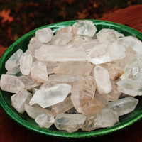 Small CRYSTAL POINTS AA Quality, Set Of 7 - Thought, Consciousness, Spirit