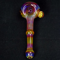 Amber Purple Spoon Pipe